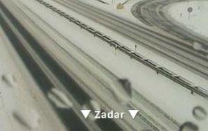 Snijeg stvara probleme u prometu (Foto: HAK)