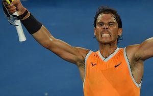 Rafael Nadal u finalu Australian Opena (Foto: AFP)