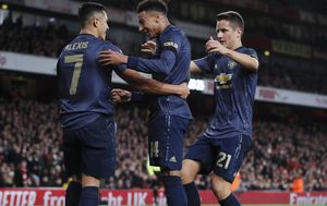 Slavlje igrača Manchester Uniteda (Foto: David Klein/Press Association/PIXSELL)