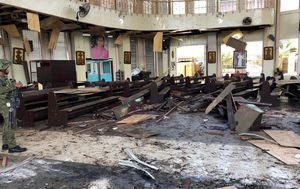 Eksplozija na Filipinima (Foto: AFP)