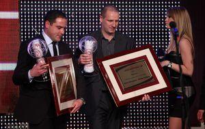 Gubica i Milošević primaju nagradu za suce godine (Foto: Robert Anic/PIXSELL)