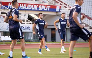 Trening Hajduka (Foto: Miranda Cikotic/PIXSELL)