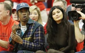 Travis Scott i Kylie Jenner (Foto: Getty Images)
