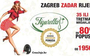 Samo jednom godišnje i samo na Crnom Jaju akcija Figurella mršavljenja u Zagrebu, Zadru i Rijeci!