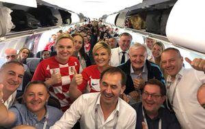 Kolinda Grabar-Kitarović otputovala u Rusiju (Foto: Facebook)