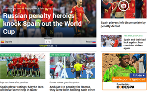 Screenshot: Marca.com