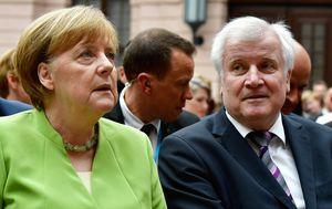 Angela Merkel i Horst Seehofer (Foto: AFP)