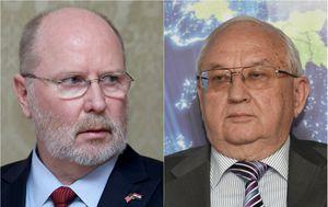 Veleposlanik SAD-a Robert Kohorst i Anvar Azimov, veleposlanik Ruske Federacije (Foto: Pixsell)