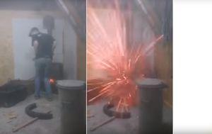 Eksplozija peći (Foto: Screenshot/YouTube)