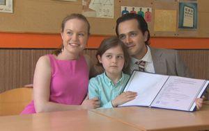Laurent Simons s majkom Lydijom i ocem Alexanderom (Foto: Dnevnik.hr) - 2