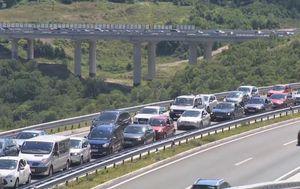 Gužva na autocesti (Foto: Dnevnik.hr)