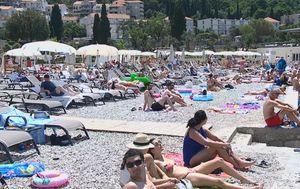 Ležaljke na dubrovačkim plažama (Foto: Dnevnik.hr) - 3