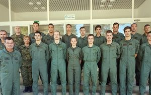Obuka nove generacije vojnih pilota (Foto: HRZ / L. Parlov)