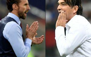 Gareth Southgate i Zlatko Dalić (Foto: AFP)