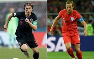 Luka Modrić i Harry Kane (Foto: AFP)