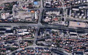 Raskrižje Ulice Domovinskor rata i Solinske ulice u Splitu (Foto: google Maps)