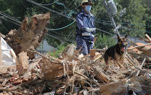 Posljedica poplave u Japanu (Foto: AFP)