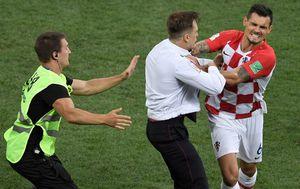Incident na finalu Hrvatska-Francuska u finalu SP-a u Rusiji (Foto: AFP) - 1