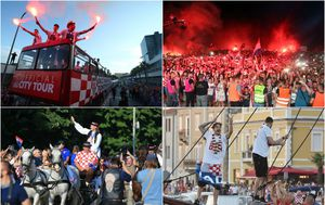 Dočeci Vatrenih diljem Hrvatske (Foto: PIXSELL)