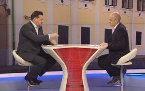 Lovro Kuščević, ministar uprave, i Mislav Bago (Foto: Dnevnik.hr)