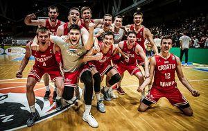 Slavlje U20 reprezentacije Hrvatske (Foto: FIBA Europe)