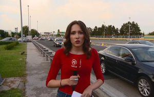 Reporterka Sanja Vištica javila se s Lučkog (Dnevnik.hr)
