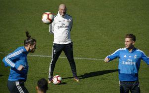Gareth Bale i Zinedine Zidane (Foto: AFP)