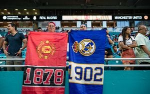 Manchester United i Real Madrid (Foto: AFP)