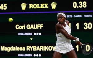 Cori Gauff (Foto: AFP)