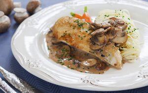 Piletina s gljivama