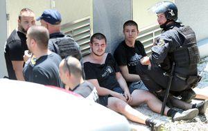 Privedeni Bad Blue Boysi u Murskoj Soboti (Foto: Sanjin Strukić/PIXSELL)