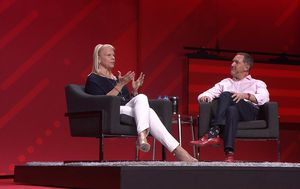 Ginni Rometty i Jim Whitehurst