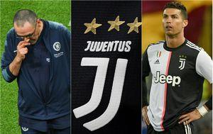 Maurizio Sarri i Cristiano Ronaldo u Juventusu (Foto: AFP)
