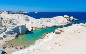 Otok Milos, Grčka