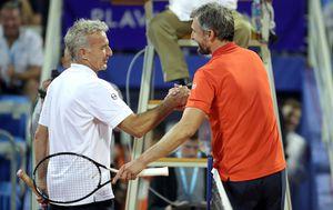 Goran Ivanišević i Goran Prpić (Photo: Goran Stanzl/PIXSELL)