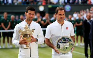 Novak Đoković i Roger Federer (Foto: Press Association/PIXSELL)