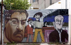 mural Ko to tamo peva, Brazil