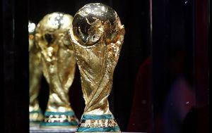 Trofej pobjednika Svjetskog prvenstva (Foto: AFP)