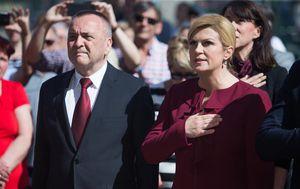 Ivan Vrkić i Kolinda Grabar-Kitarović (Foto: Davor Javorovic/PIXSELL)