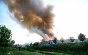 Požar u C.I.O.S.-u (Foto: Marko Prpic/PIXSELL)