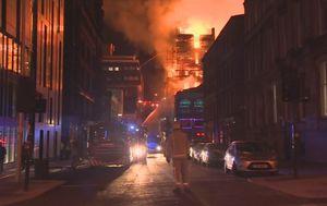 Požar u Glasgowu (Printscreen Reuters)