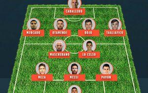 Potencijalna postava Argentine za utakmicu s Hrvatskom (Screenshot)