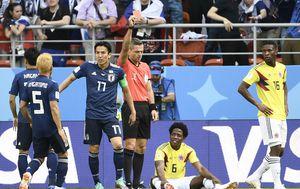 Carlos Sanchez zaradio isključenje za Kolumbiju (Foto: AFP)