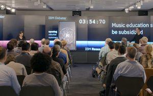IBM Project Debater (Foto: Screenshot/YouTube)