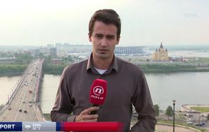 Vlado Boban javio se iz Nižnji Novgoroda za Dnevnik Nove TV