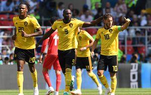 Lukaku i Hazard slave pogodak (Foto: AFP)