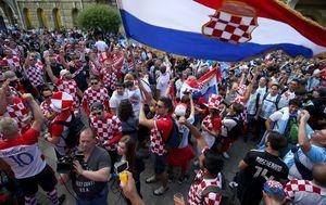 Hrvatski navijači u Rusiji (Foto: Igor Kralj/PIXSELL)