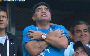 Diego Maradona u transu (Screenshot)