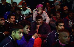 Migranti na brodu španjolske humanitarne organizacije Proactiva Open Arms (Foto: AFP)
