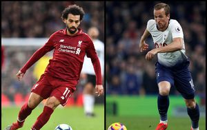Mohamed Salah i Harry Kane (Foto: AFP)